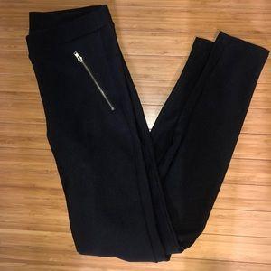 F21 Zipper stretchy pants